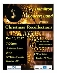 Christmas Recollections @ St. Andrew's United Church | Hamilton | Ontario | Canada