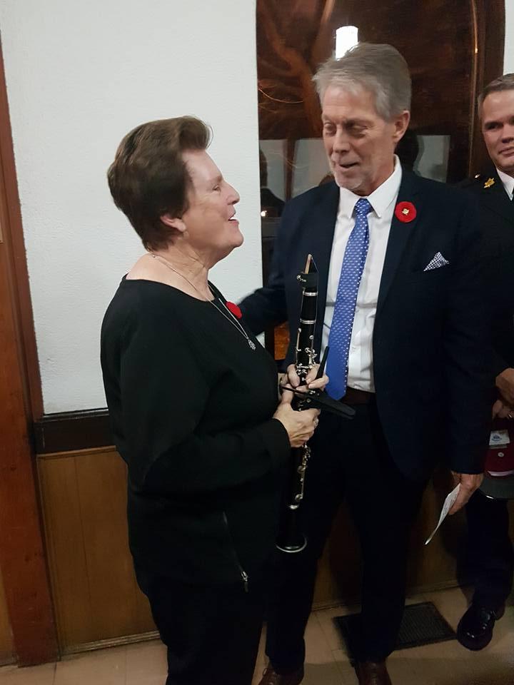 Helen and Mayor
