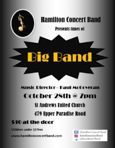 Big Band @ St. Andrews United Church | Hamilton | Ontario | Canada
