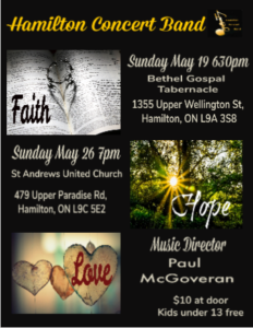 Faith, Hope & Love Concert @ St. Andrews United Church